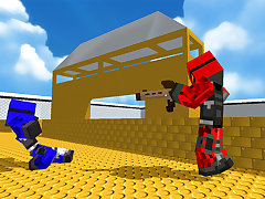 Blocky Gun Paintball